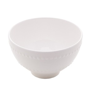 Bowl Porcelana New Bone Branco 11,5x7cm Lyor
