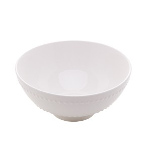 Bowl Porcelana New Bone Branco 15x7cm Lyor