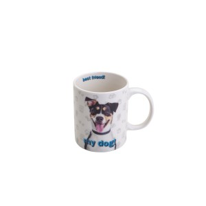 Caneca Porcelana Best Friend 330ml Rojemac