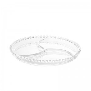 Petisqueira Cristal Pearl Wolff 24cm Rojemac