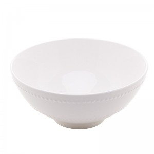 Bowl Porcelana New Bone Branco 19,5x8,8cm Lyor